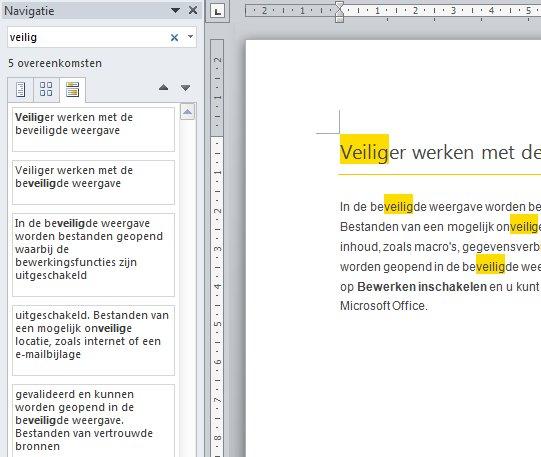 titel word document zichtbaar op macbook